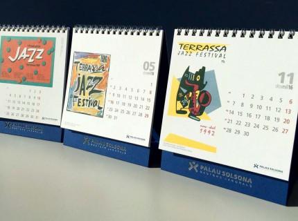 Festival de Jazz Terrassa 2016 Calendari Palau Solsona 2016